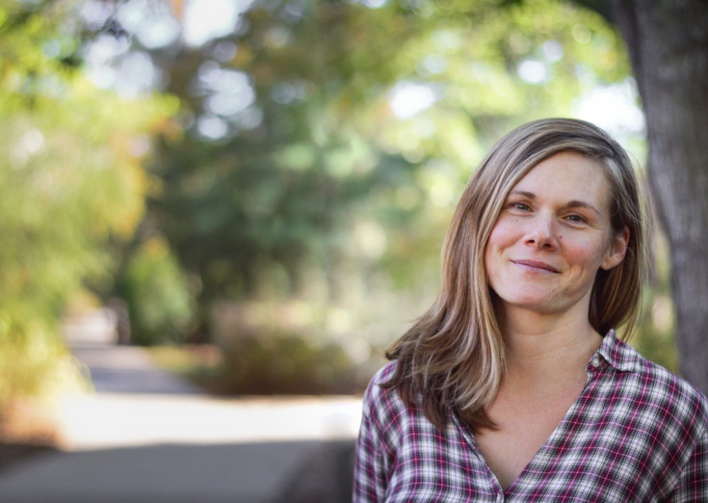 Katie Hill, pictured, is an affiliate of the River Basin Center and a research professional at the Carl Vinson Institute of Government.